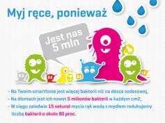 Dziś obchodzimy Światowy Dzień Mycia Rąk