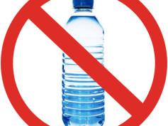 Plastikowe butelki? Nie, dziękuję!