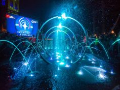 Światło, woda i dźwięk, czyli niezwykły letni duet koncertowy